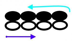 飾り部分の編み図