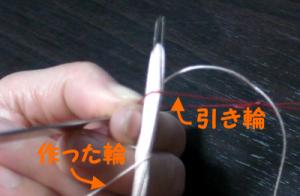 網針の入れ方