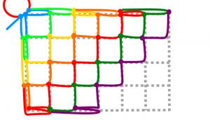 長方形の7段目