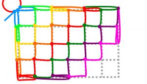 長方形の8段目