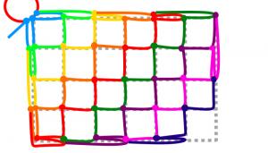 長方形の9段目