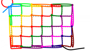 長方形の10段目